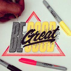 Color lettering by El Juantastico