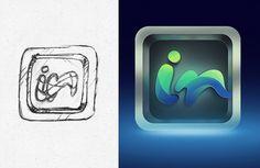 In icon #logotype #branding #icon #brand #isotype #logo