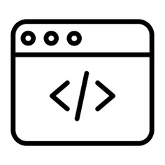 See more icon inspiration related to code, ui, seo and web, coding, web development, programming, web page, web programming, development, website, developer, interface, web and computer on Flaticon.