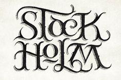 Simon Ã…lander #logo #stockholm #typography