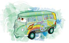 kombi fillmore - carros - marianapoczapski #illustration