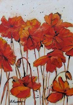 Poppies #poppies #elizabeth #durango #painting #art #kinahan #flowers