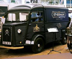 St Germain #vintage #branding #truck #vehicle