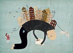 Michelle Carlslund Illustration Ordskælv