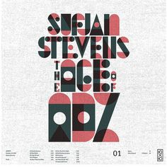 01. Sufjan Stevens - The Age of Adz | Flickr - Photo Sharing! #stevens #of #experimental #sufjan #the #age #type #adz #typography