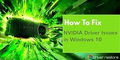 Update #NVIDIA Drivers Windows 10