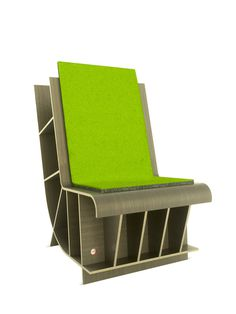 Bookseat Basic Felt Cushion Gilt Home #chair #furniture #books #bookseat