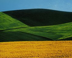 Abstract Colour Landscapes by Franco Fontana