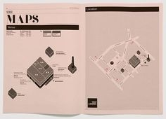 Creative Review - Tent type #print #design #map #type #magazine