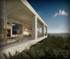 CJWHO ™ (pezo von ellrichshausen architects: solo houses) #photography #design #architecture #interiors