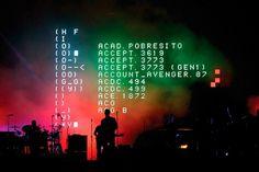 Massive Attack | United Visual Artists #performance #visual #system #united #attack #massive #artists #led #typography