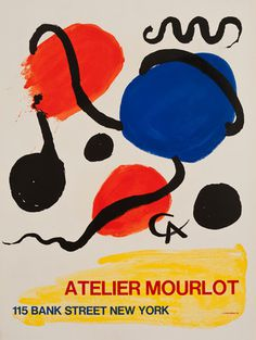 Alexander Calder from kingandmcgaw.com #Poster #Print #Art #Printing #Lithograph #Picasso #Dove #Drawing #Mourlot
