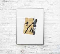 two color screenprint 1/10 in an edition of 10 - david boon