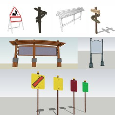 Signage | Sign Design | Wayfinding | Wayfinding signage | Signage design | Wayfinding Design | 公告牌合集