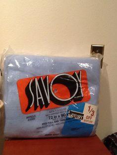 Vintage Savoy Blanket Twin Or Full Blue New In Original Package 100% Polyester   eBay