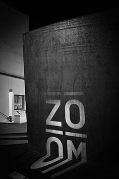 ZOOM – Basle Film Festival & Film Prize ° Identity on the Behance Network #projection #typography