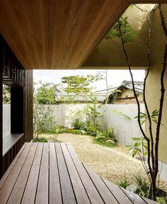 Japan Micro House with Small Zen Garden - InteriorZine