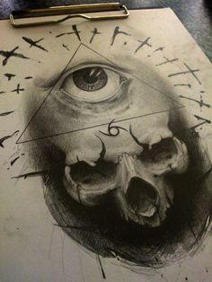 illuminati by AndreySkull on deviantART #skull #illuminati