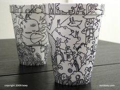 CJWHO ™ (Amazingly Detailed Illustrations Drawn on Foam...)