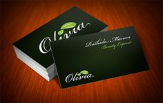 Random Business Card Designs on the Behance Network #beauty #business #branding #card #nature #cards #typography