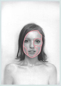 BOREDOM Identity on Behance #boredom #face #brand #girl