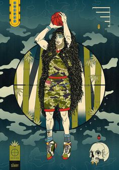 Edo Ball: Illustrations Based on Japanese Mythology and Culture by Andrew Archer