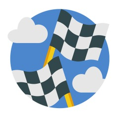 See more icon inspiration related to finish, start, race, finish flag, Maps and Flags, racing flag, races, racing, signaling, flags and flag on Flaticon.