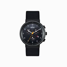 Braun BN0035 Ceramic Black #braun watch black