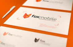 Fox mobile #telecom #fox #corporate #identity #mobile