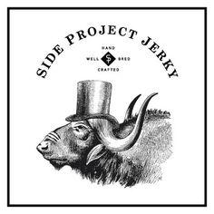 Side Project Jerky #logo #identity #branding