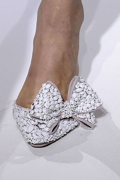 Pinned Image #valentino #bow #white #shoes