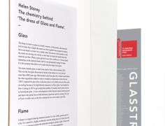 Glasstress White Light / White Heat — Venice Biennale on Behance #exhibition #signage #print #pillar