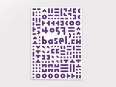 maxim likes things #type #poster #geometric #purple