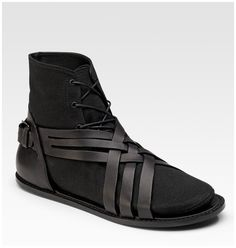 Dior Homme SS 2011 #shoes #black