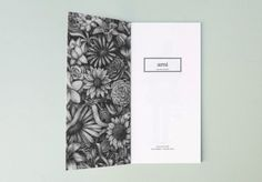 fashion label look book design inspiration #white #minimal