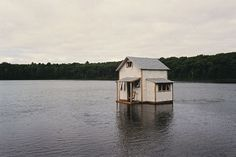 rochester art center - exhibitions - galleries and archive #photography #house #lake #chris larson