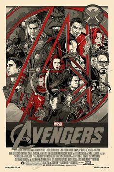 Fantastic Mondo Poster For Marvel's 'The Avengers' #avengers #movie #poster #the