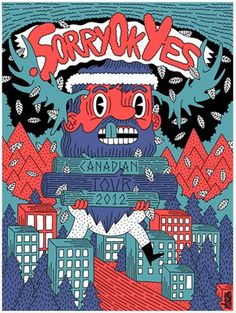 Sorry Ok Yes poster by Johnny Cobalto »