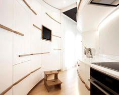 Italian Apartment By Studiovo -  #decor, #interior, #homedecor, #modern, #kitchen