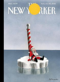 The New Yorker (US) #warming #global #cover #editorial #magazine