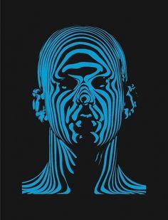 62176_163540133659308_115661555113833_522845_7736544_n.jpg (JPEG Image, 550x720 pixels) #design #illustration #art #blue #face
