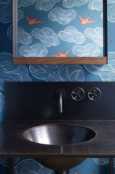 Art interior in bathroom #interior #painting #art #kids #apartment #room