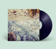Sjø Album - Amy Martino - Design + Art Direction #album #green #record cover #cover #design
