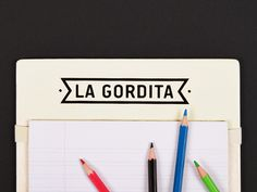 La Gordita #packaging #food #branding