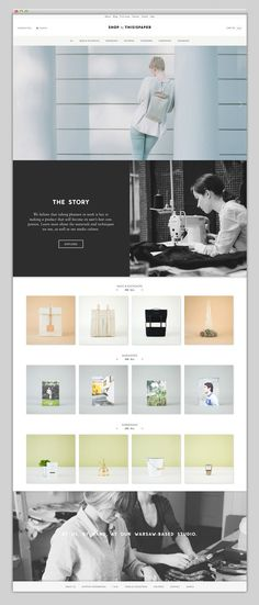 This is paper shop #layer #shop #website #layout #paper