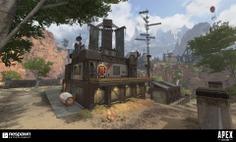 Apex Legends - King's Canyon (Buildings)