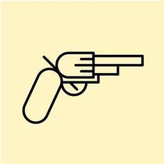 522712_3789269132295_1294107447_3604536_1299212195_n.jpg 534×534 Pixel #illustration #pistole #pictogramm