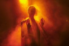 We die when we stop living. The best time to be alive is now. — Synaptic Stimuli #smoke #orange #person #bald #light