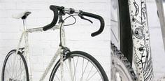 Bildergebnis für illustrated bike frame