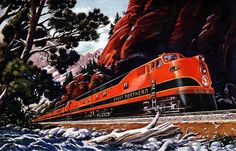 Plan59 :: Vintage Ads :: Mid-Century Modern :: Great Northern Empire Builder, 1946 #great #northern